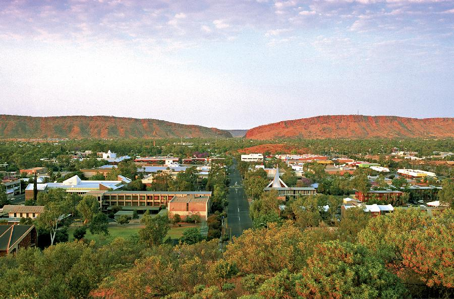 A Town Like Alice, Alice Springs