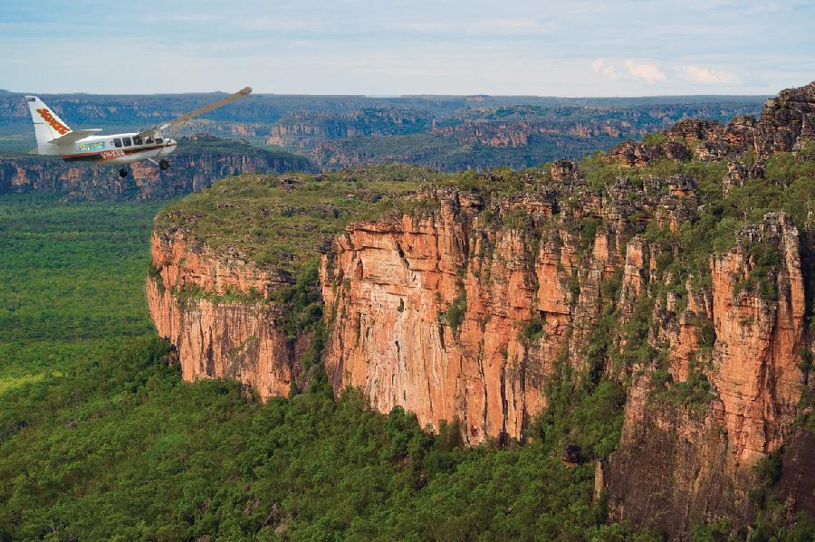 Aerial view. Kakadu National Park, NT