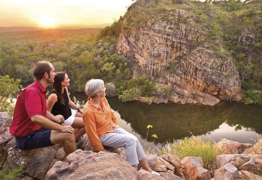Katherine Gorge Cruise & Edith Falls, Darwin