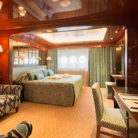 MS Caledonian Sky suite