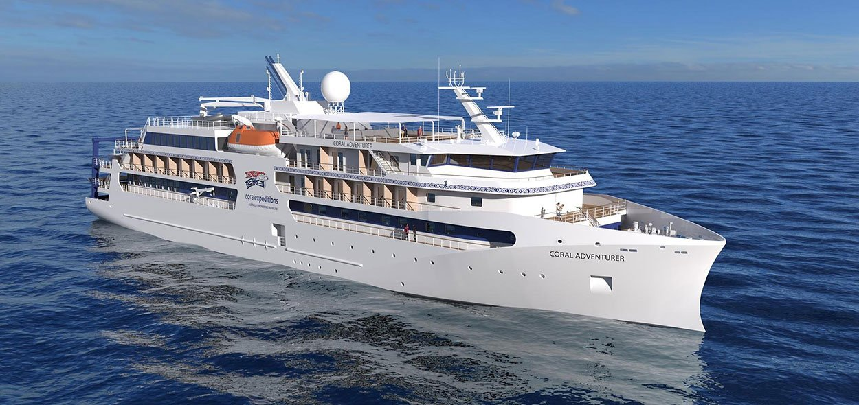 Coral Adventurer launching in 2019