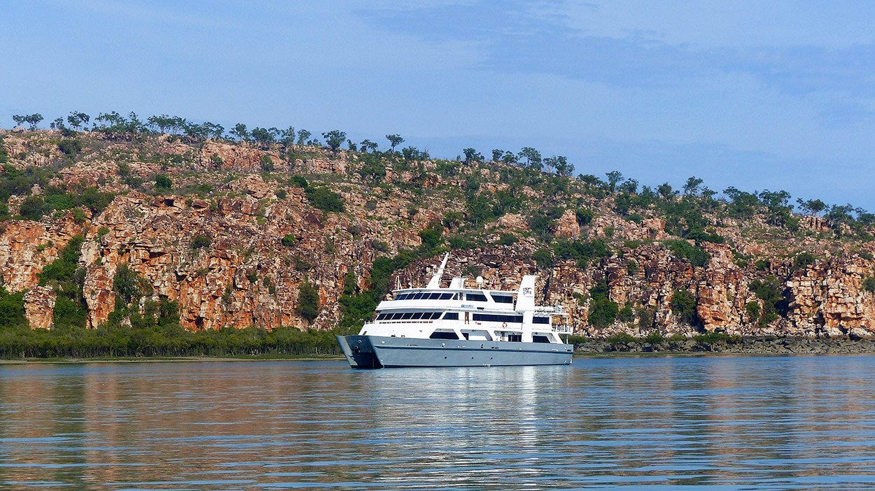 Coral Expeditions I luxury Kimberley small cruise ship