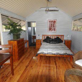 Davidson's Arnhemland Safaris deluxe cabin