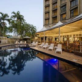 DoubleTree by Hilton Darwin pool