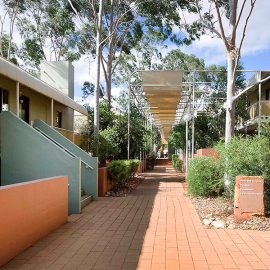 Emu Walk Apartments scenery and surrounds