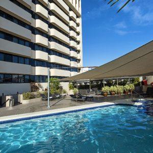 Hilton Darwin pool