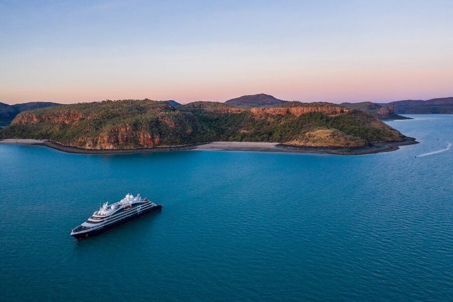 Le Bellot cruising the Kimberley