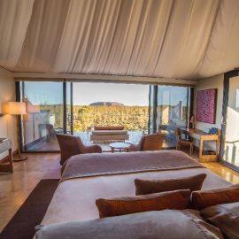 Longitude 131 luxury safari tent