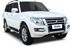4WD and Car Hire Thrifty Large 4WD (FFAR)