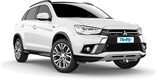 Northern Australia 4WD and Car Hire Thrifty Standard (SWAR) Mitsubishi ASX or Similar
