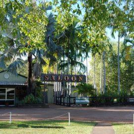 Point Stuart Wilderness Lodge bar and bistro