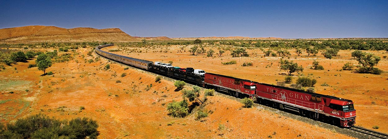 Red Centre Rail Adventure