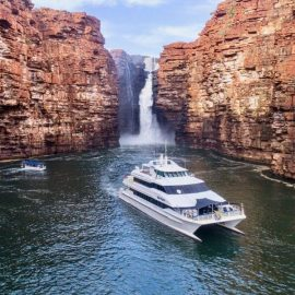 MV Reef Prince cruising the Kimberley Coast