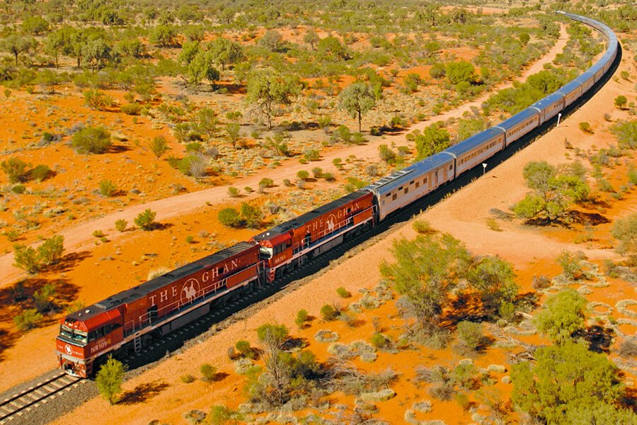 The Ghan rail experience