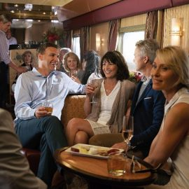 The Ghan outback explorer lounge